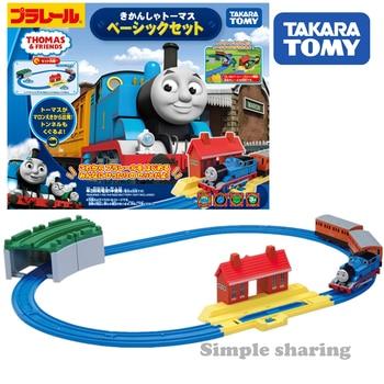 Takara Tomy tomica Plarail The Tank Engine  Basic type train model kit diecast hot baby toys for children pop funny kids dolls