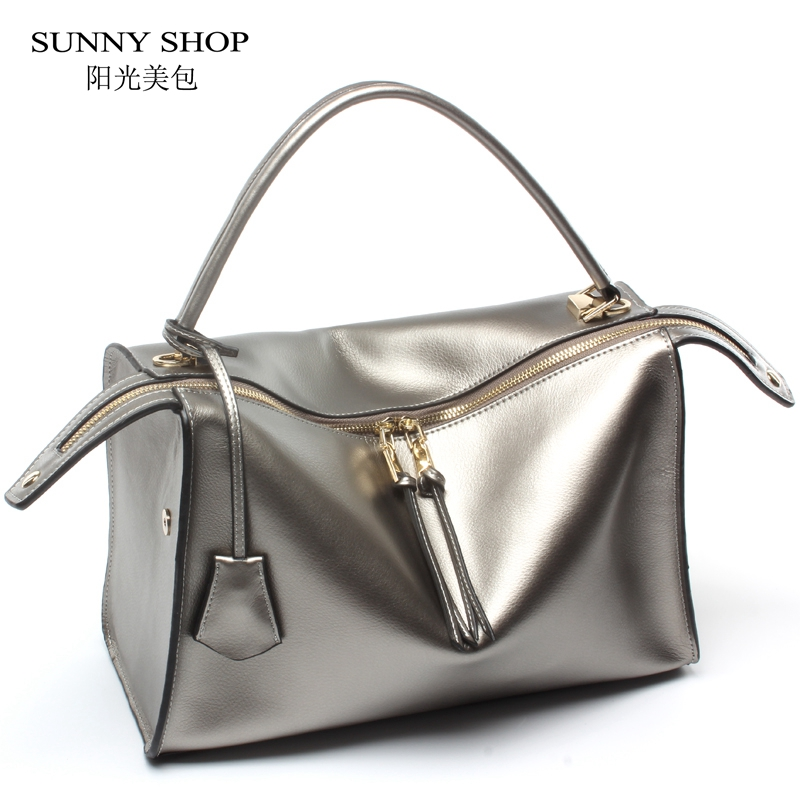 SUNNY SHOP Luxury Genuine Leather Women Handbags Office Fashion Brand Design Real Leather Shoulder Bag Vintage HIgh Quality BagSUNNY SHOP Luxury Genuine Leather Women Handbags Office Fashion Brand Design Real Leather Shoulder Bag Vintage HIgh Quality Bag