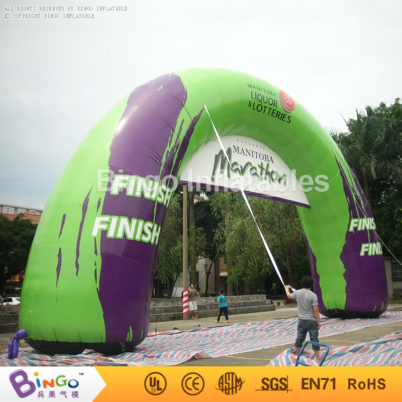 inflatable arch for advetising,finish line archway for race events 15.6M long BG-A0341 toy 420d oxford inflatable arch inflatable archway 6 3 m with your logo