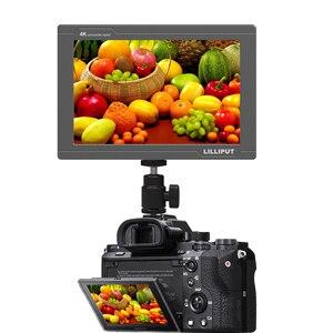 Image 3 - Lilliput FS7 Metal housing Full HD 7 Inch SDI Monitor With 4K HDMI Camera Assist