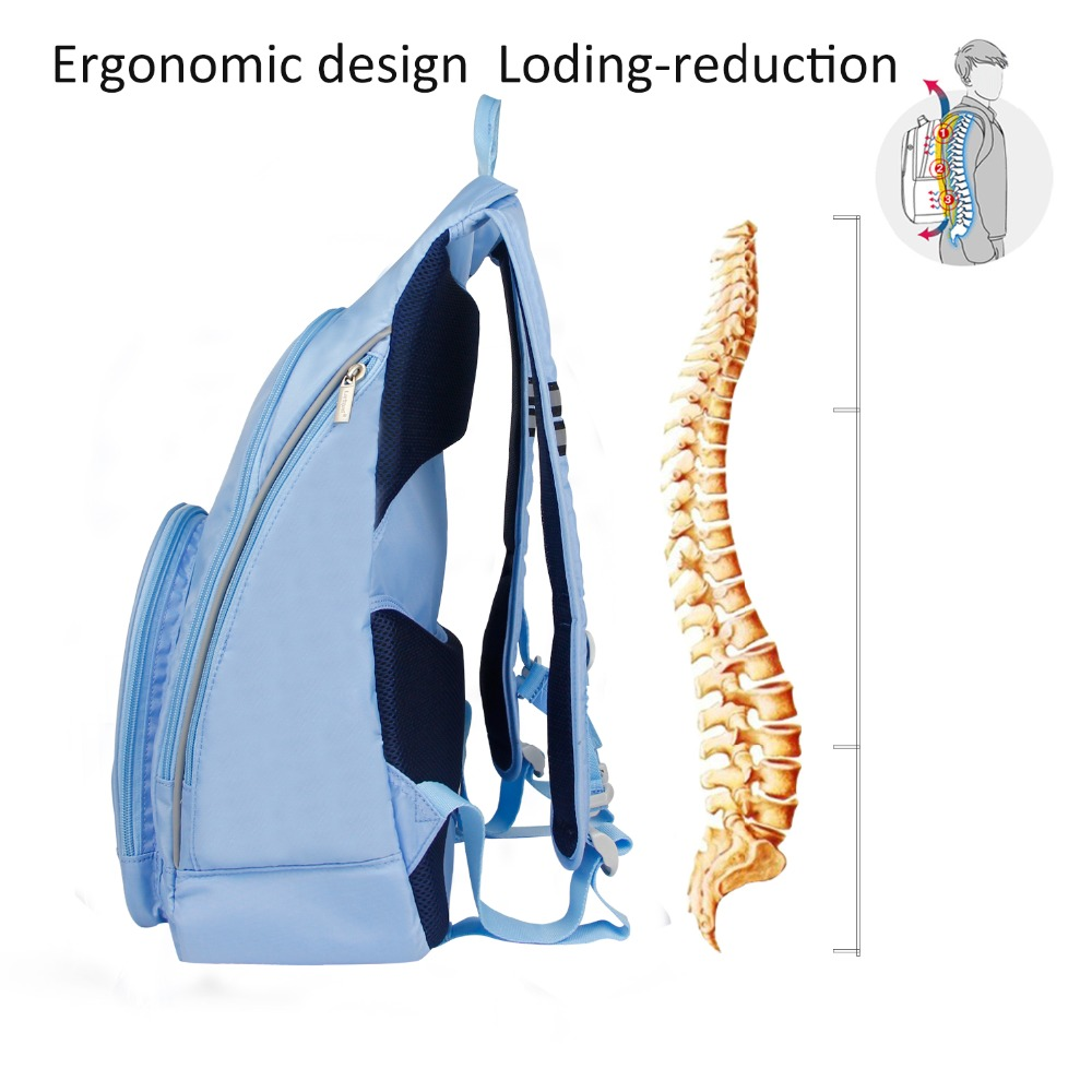 Larkpark shoulder backpack bags fashion Design with hidden earphone hollow men and women backpacks large capacity Daypack