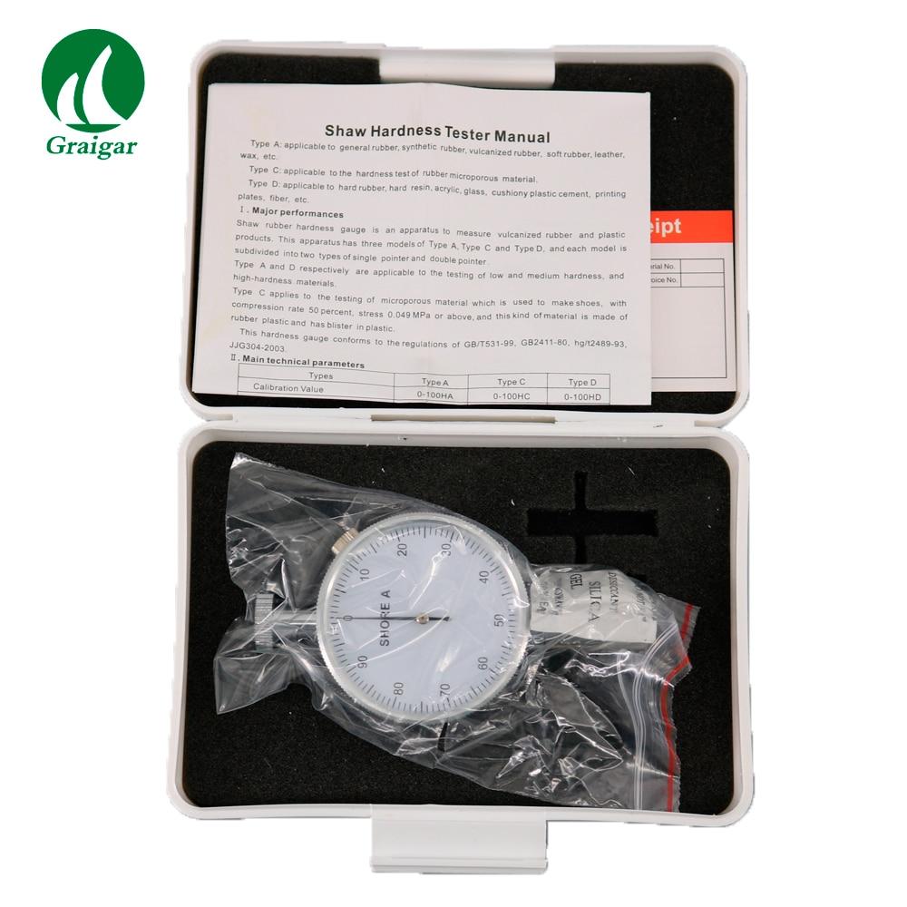 De poche LX-A Micro Pointeur Shore A Duromètre Duromètre Shore Résolution 0.5HA