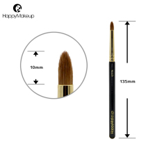 Happy Makeup Brush Professional Eyeshadow Precision Pencil Eye Shader Shadow Brush Cosmetic Natural Weasel Hair High Quality 1pc