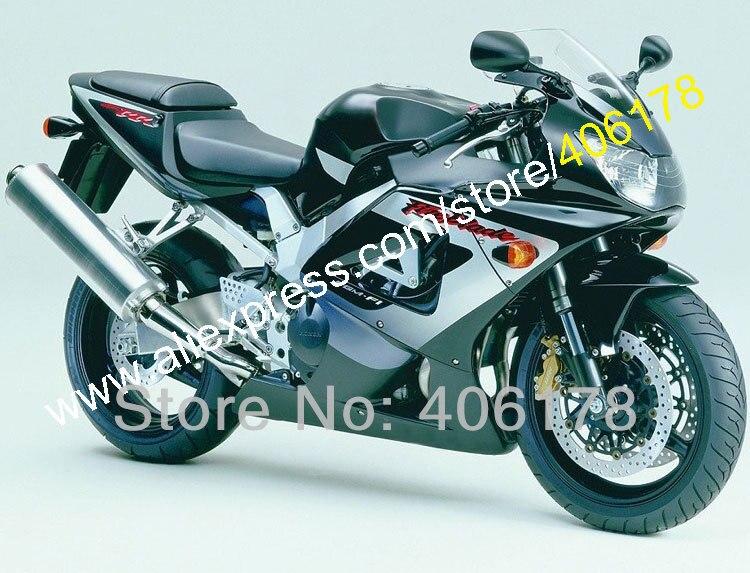 Горячие продаж,для Honda CBR900RR 929 2000 2001 CBR900 900RR CBR900 CBR900RR 00 01 черный пользовательские Мото-Обтекатели комплект (литья под давлением)