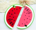 Fashion 3D Cute Fruit Summer Holiday Beach Watermelon Shape Design Soft Silicone Case cover For iPhone 6 6S plus iphone6