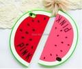 Moda 3d bonito da fruta melancia forma de praia férias de verão design suave silicone caso capa para o iphone 6 6 s plus iphone6