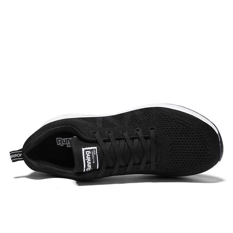 Onke סגנון חדש נעלי ריצה לגברים סופר מגניב שחור ספורט איש סניקרס דעיכת קל מאמני כושר אתלטי נעל