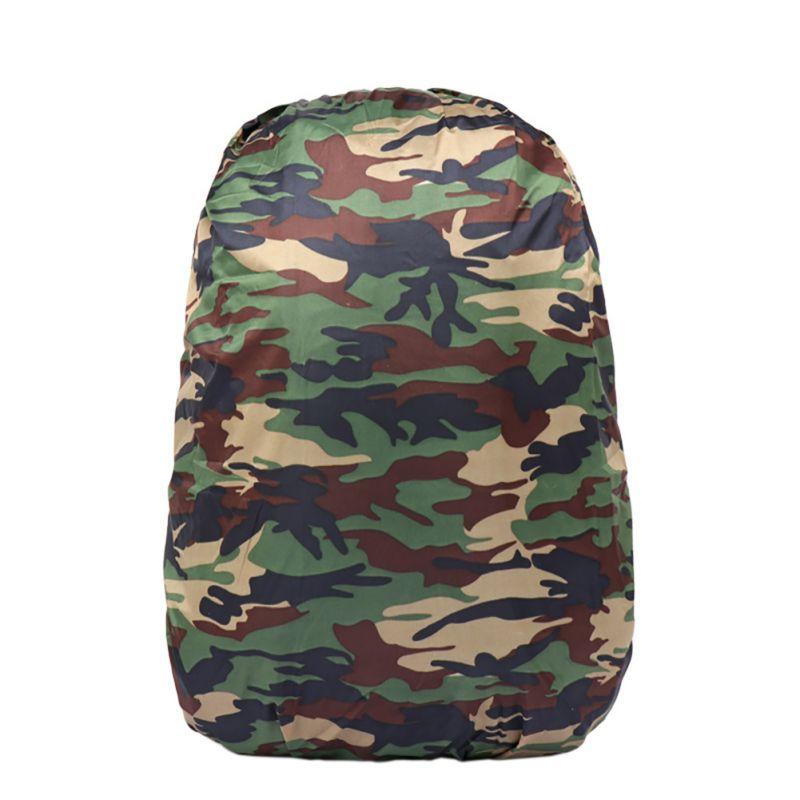 Nylon Camouflage Backpack Dust 25-40L Bag Raincoat Bags Fishing Trip Hunting Kits Climbing Bags Case