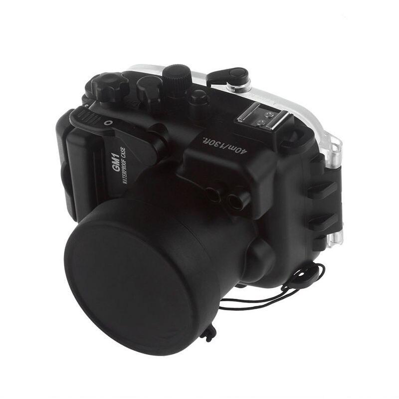 Meikon GM1 40M Waterproof Underwater Camera Housing Case Bag for Panasonic GM1