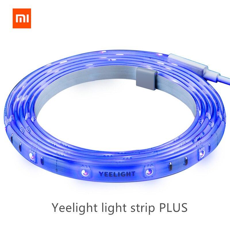 [Update version ] Original xiaomi mijia yeelight light strip plus ,Extendible up to 10m smart control to mi home / yeelight app yeelight ночник светодиодный заряжаемый с датчиком движения