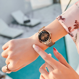 Image 5 - Fashion Women Watches 2019 CIVO Waterproof Rose Gold Steel Mesh Strap Quartz Women Watch Top Brand Ladies Clock Relogio Feminino