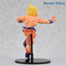 Super Saiyan Son Goku Vs Bardock Battle Damage PVC Action Figure 23cm