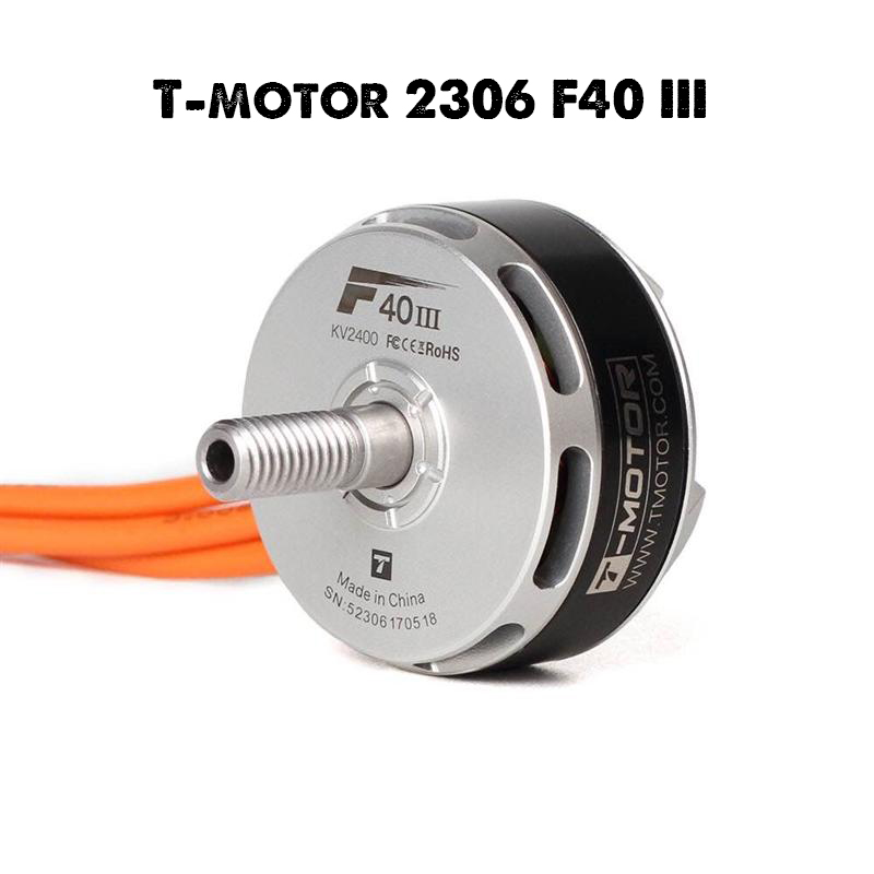 <font><b>T</b></font>-<font><b>Motor</b></font> <font><b>F40</b></font> <font><b>III</b></font> 2306 2400KV 2600KV 2750KV Brushless <font><b>Motor</b></font> for RC Multirotor 210 220 250 260 RC Drone image