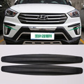 4pcs Black New Universal Fit Front&Rear Bumper Protector Corner Guard Scratch Sticker