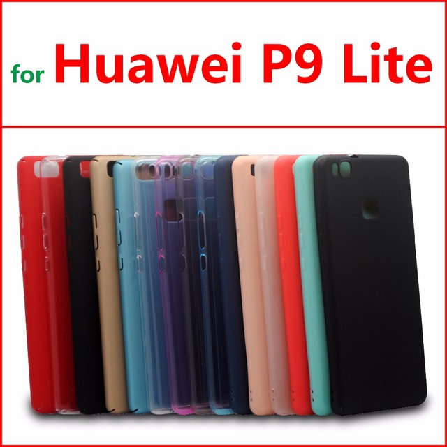huawei p9 lite colors. huawei p9 lite case cover tpu silicone for crystal and solid colors