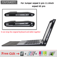 Original Business Stand Pu Leather Case For Jumper Ezpad 6 Pro 6s Pro 11 6 Inch