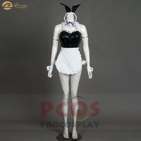 Brand New * In stock Sexy twin teen maid Cosplay black rabbit suit cosplay Ram cosplay re zero Rem cosplay costume mp004174