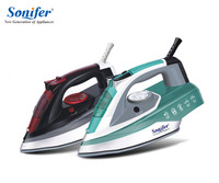 2200W Colorful Portable Electric Steam Iron For Clothes High Quality Three Gears Ceramic Soleplate 220V Sonifer