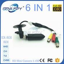 Panasonic Senor Starlight 1080P Full HD Mini Bullet Pin Hole HD-SDI Camera Support AHD/TVI/CVI/CVBS-1Vp-p//EX-SDI Video Output