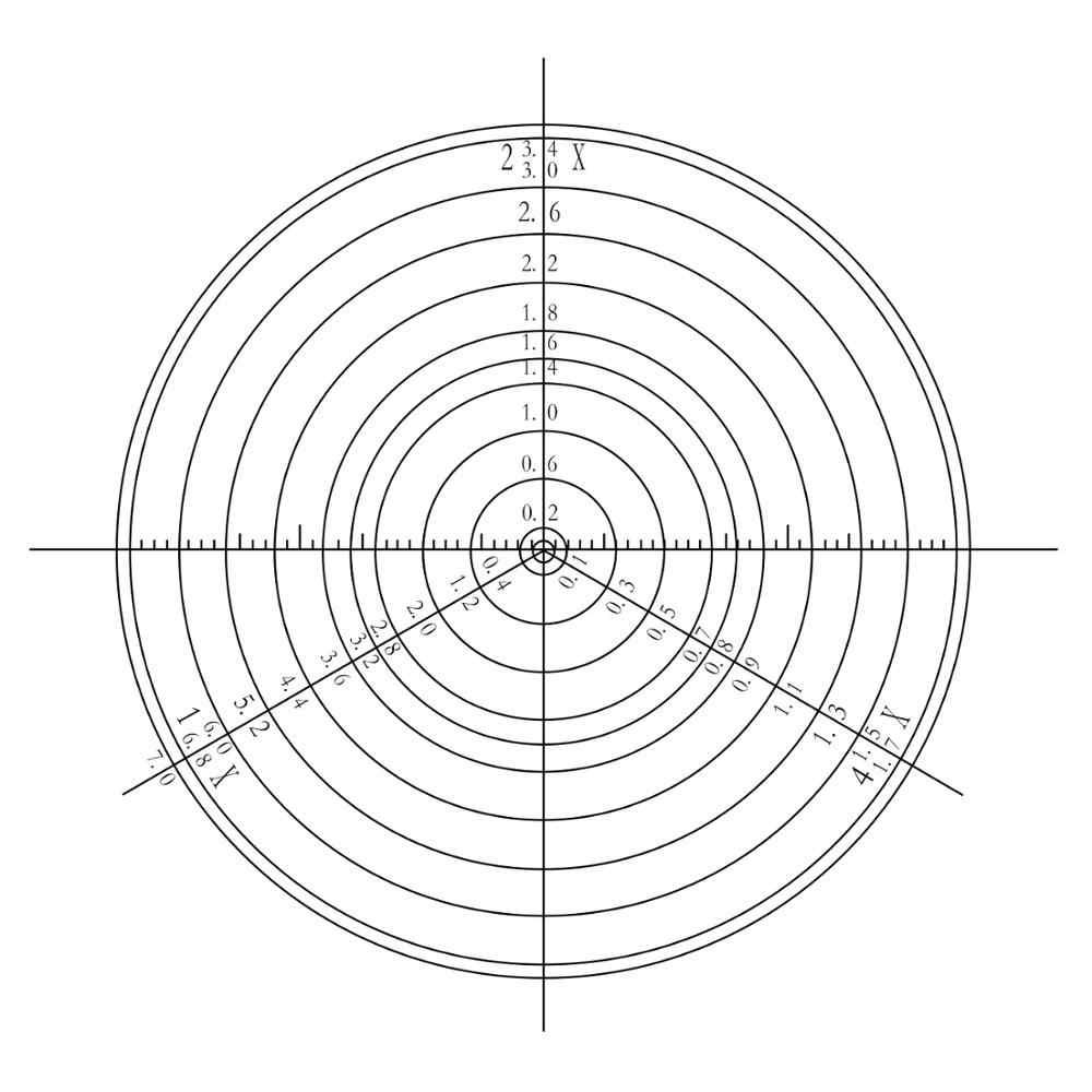 Диаметр 15 5 мм концентрические круги микроскоп окуляр микрометр калибровка слайд