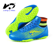 High Ankle Football Shoes Men Women Indoor Soccer Shoes Professional Training Football Boots Superfly Original For Kids Futsal