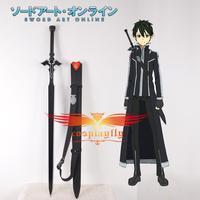 Sword Art Online Mother's Rosary Kirito's Black Sword Cosplay Prop with Strap D0001