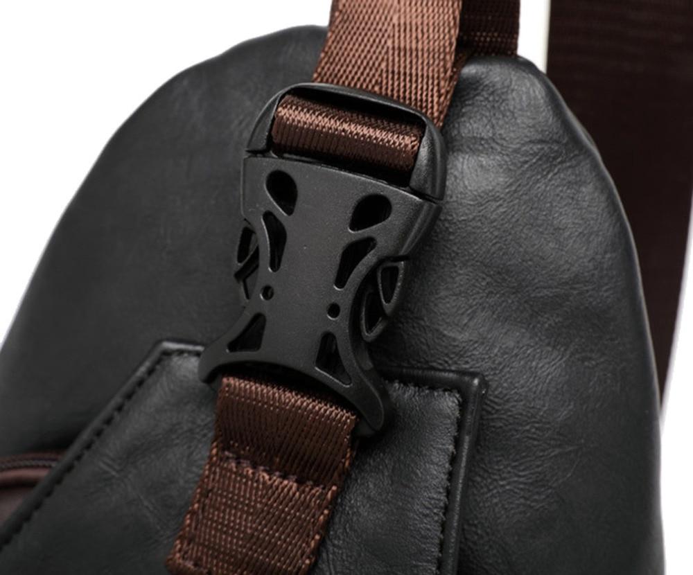 qualidade de viagem corpo cruz Material Composição : PU Leather