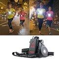 1200lm XPE наружные спортивные ходовые огни Q5 светодиодный ночной фонарь для бега предупреждающие огни USB зарядка грудь Лампа Белый свет факел