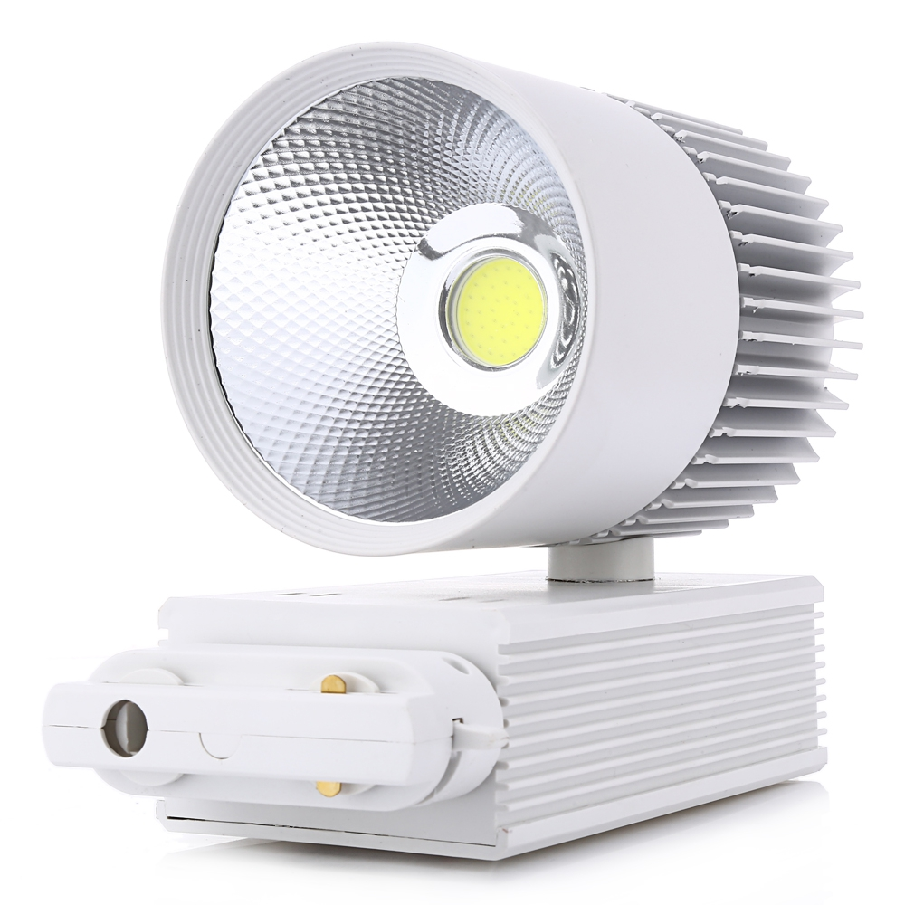 Track Light 30W COB Ceiling Rail lights For Pendant Kitchen Clothes Shop Shoes Store Equal 300W Halogen Lamps Spot Lighting 2017 led track light50wled exhibition hall cob track light to shoot the light clothing store to shoot the light window