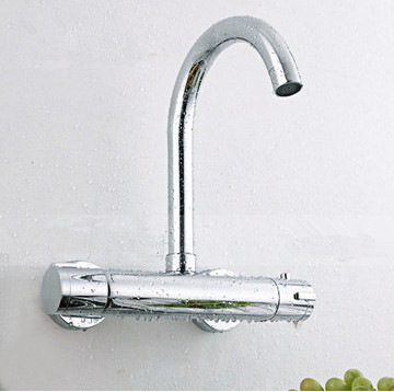 Cucina a parete rubinetto Termostatico miscelatore della cucina ...