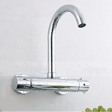 wall kitchen faucet Thermostatic kitchen mixer Kitchen
