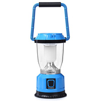 High Power 3W 3 Modes 250LM 6 LEDs Solar USB Rechargeable Camping Lantern Portable For Household