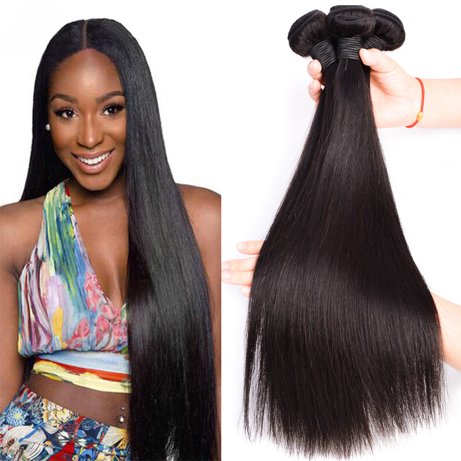 7A Malaysian Straight Hair 3 Bundles Malaysian Virgin Hair ...