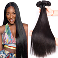 7A Malaysian Straight Hair 3 Bundles Malaysian Virgin Hair Straight Human Hair Bundles Cheap Malaysian Straight Virgin Hair