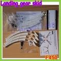 4 шт./компл. универсальных высокие полозья шасси для DJI F450 F550 SK480 FPV оптовая продажа