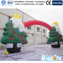 Factory Direct Inflatable Advertising Christmas Tree Arch with High Quality