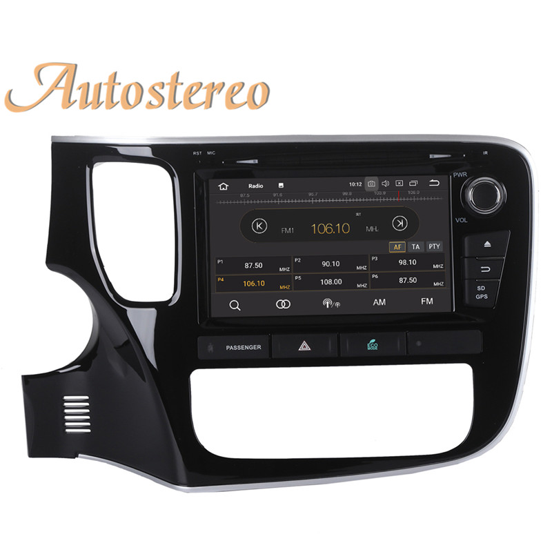 Excellent Android 9 Car GPS navigation Car DVD player For Mitsubishi OUTLANDER 2014 2015 2016 2017 multimedia radio tape recorder headunit 18