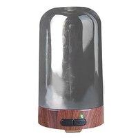 100Ml de Óleo Essencial de Aromaterapia Difusor Umidificador De Ar De Aquecimento Elétrico Padrão Pavão 7 Cores Mudando Led Início Noite Lig|Umidificadores| |  -