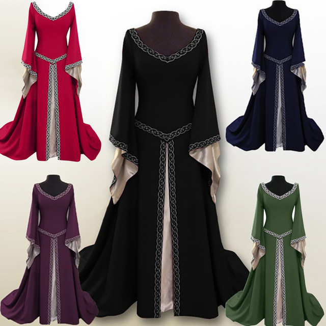 Plus Size 5XL Party Dress 2019 Women Elegant Flare Sleeve Long Dresses Woman Party Night Long Sleeve Party Dress Ladies Dresses