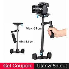 Ulanzi s60t 60 см углерода Волокно Steadicam Ручной Steadycam Камера стабилизатор держатель видео устойчивый cam для Canon Nikon Sony DSLR