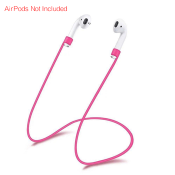 Anti-lost λουράκι σιλικόνης για Apple AirPods Προστασία Κινητών Gadgets MSOW