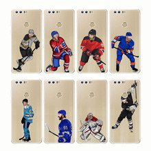 Sport Ice Hockey Sidney Crosby Cartoon Soft Silicon Phone Cases Cover Capinha Coque for Huawei Mate 20 10 9 lite Honor
