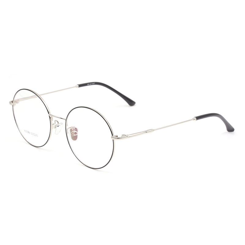 0423292781 Dropwow Alloy Eyeglasses Frame Gold Round Computer Reading Clear ...