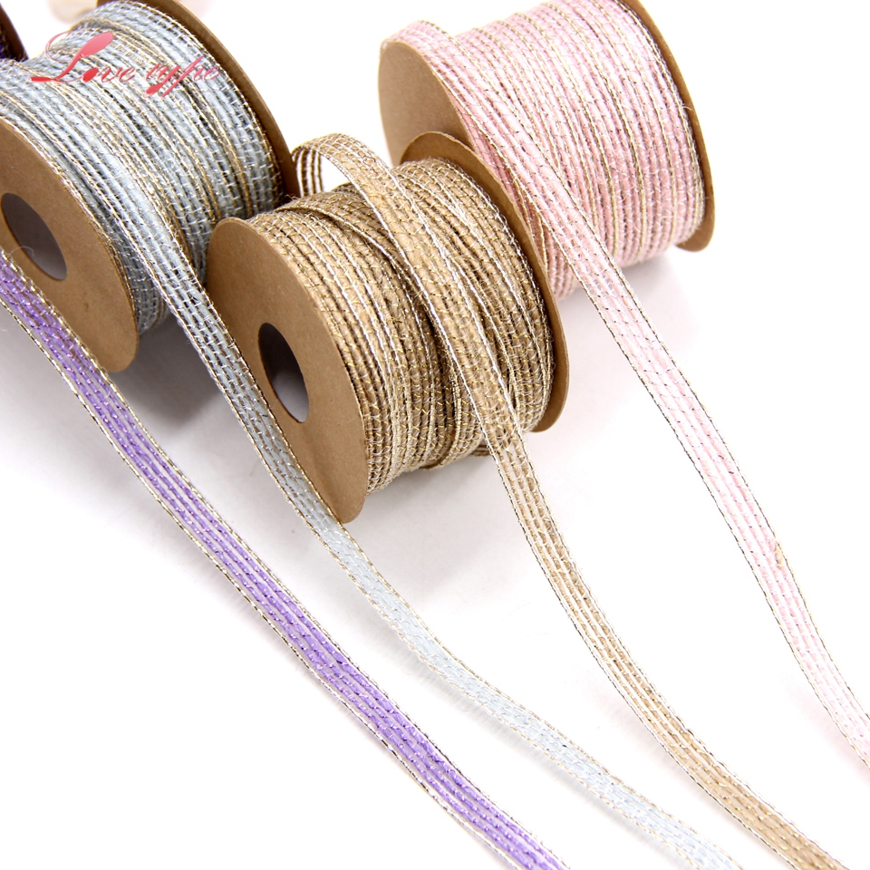 Party Favors - Gift Ribbon Bows Hipgirl Gold Glitter Ribbon for Crafts- Non-Wired Ribbon for Gift Wrapping 25yd 1 Wide Gold Ribbon Great Golden Ribbon for Christmas Tree Garlands
