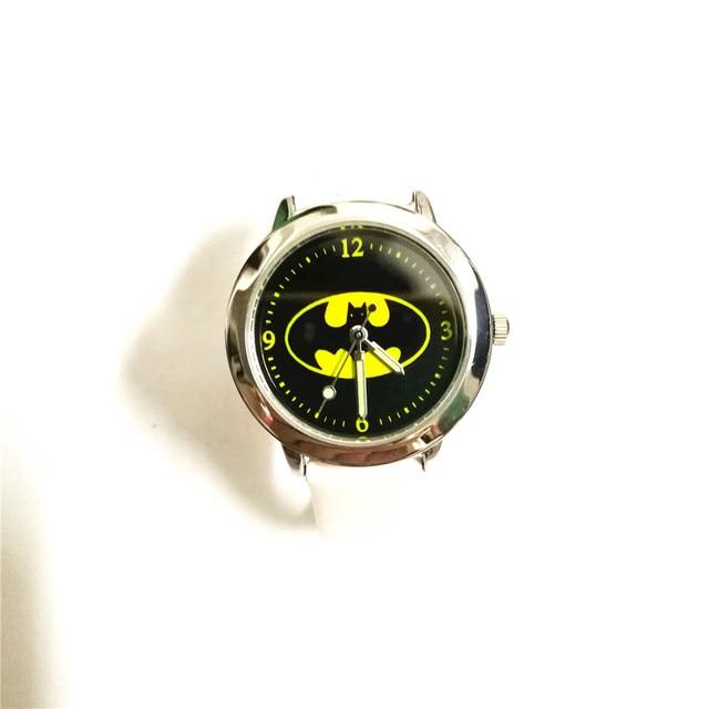 Del quarzo dei bambini del fumetto di modo Batman orologio da polso per ragazzi studenti regalo di natale per bambini orologio montre enfant relogio infantil