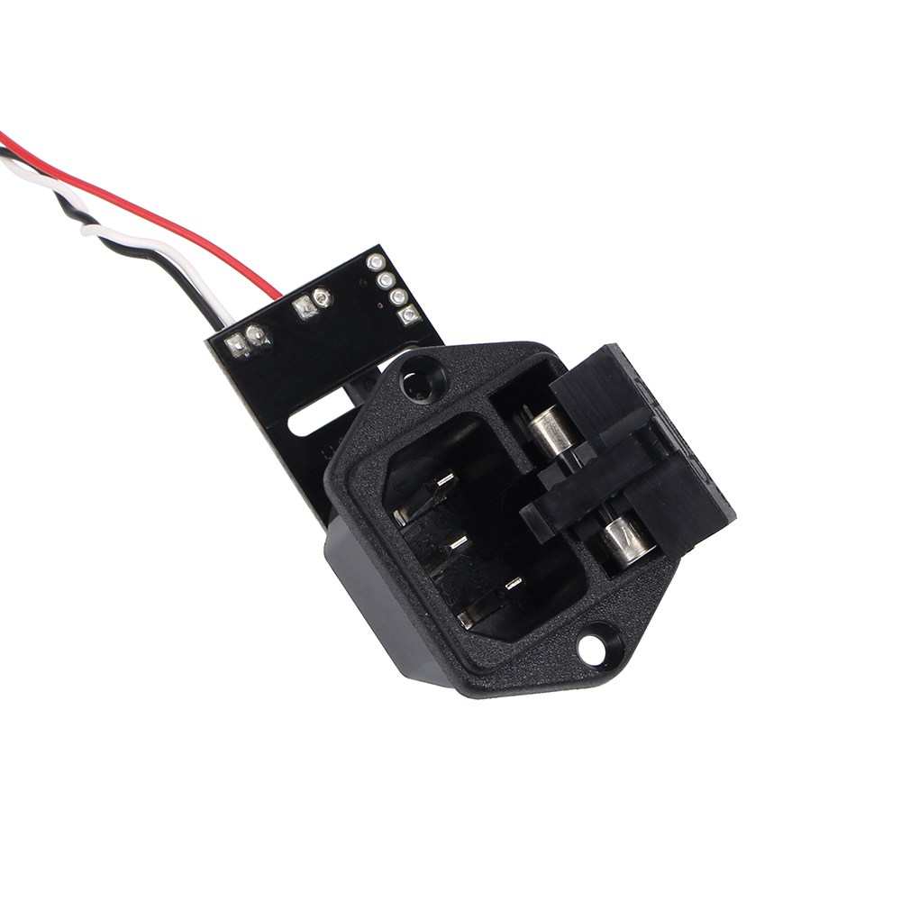 Prusa i3 MK3 Panic V 0.4 High Voltage Power Supply With 10A 250v Fuse Switch PL