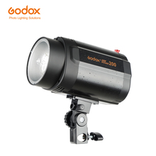Godox 200 Вт моно светильник фотостудия стробоскопический светильник (мини студийная вспышка)