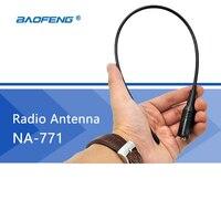 Radio Antenna NA 771 Baofeng Walkie Talkie Gain Antenna SMA F Dual Band UHF VHF CB