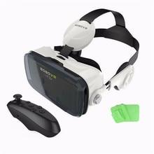 Z4 4-6นิ้วโทรศัพท์มือถือvrกล่อง3d googleกระดาษแข็งVRแว่นตาเสมือนจริงชุดหูฟังภาพยนตร์วิดีโอVRแว่นตา+ระยะไกลควบคุม