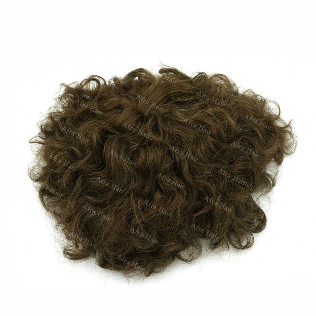 Fishnet Hair System For Men Thin Skin Toupee Haarteile Echthaar